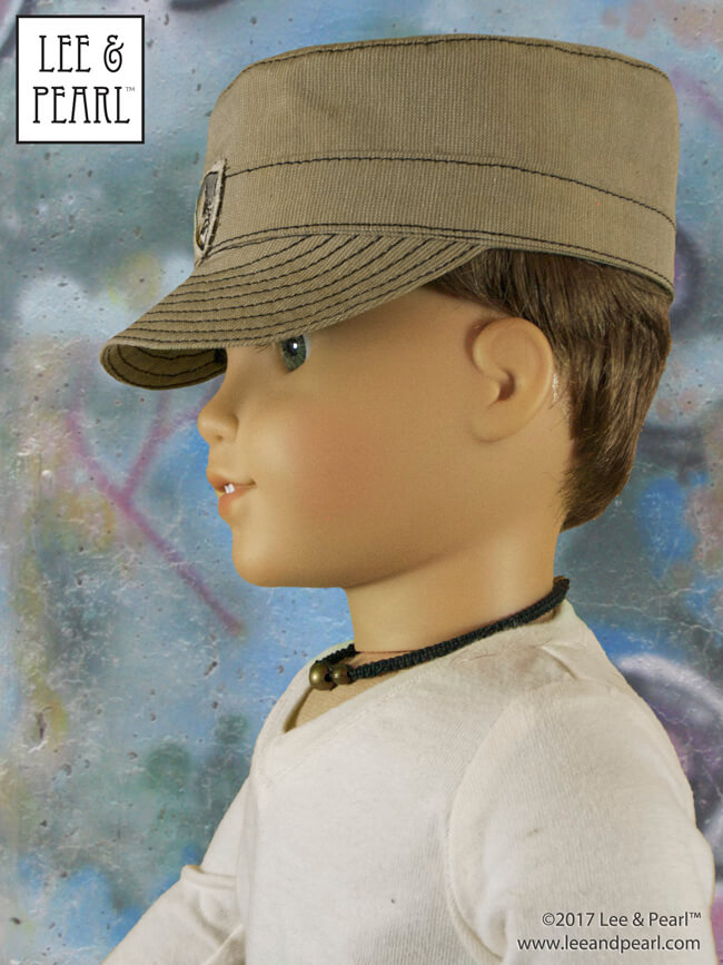 Introducing the Lee & Pearl Military Uniform Separates, Caps and Hats Pattern BUNDLE for 18 Inch American Girl Dolls. We are thrilled to present this collection of our favorite doll uniform separates and hat patterns, giving you ultimate mix-and-match flexibility for all your active, adventuresome 18 inch boy or girl dolls — at a significant discount from the separately purchased pattern prices.