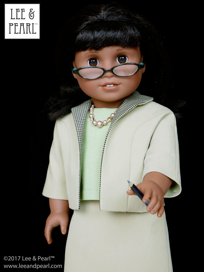 COMING SOON — Lee & Pearl Pattern 1964: Darling Doris! 1960s Ladies' Ensemble for 18 Inch Dolls