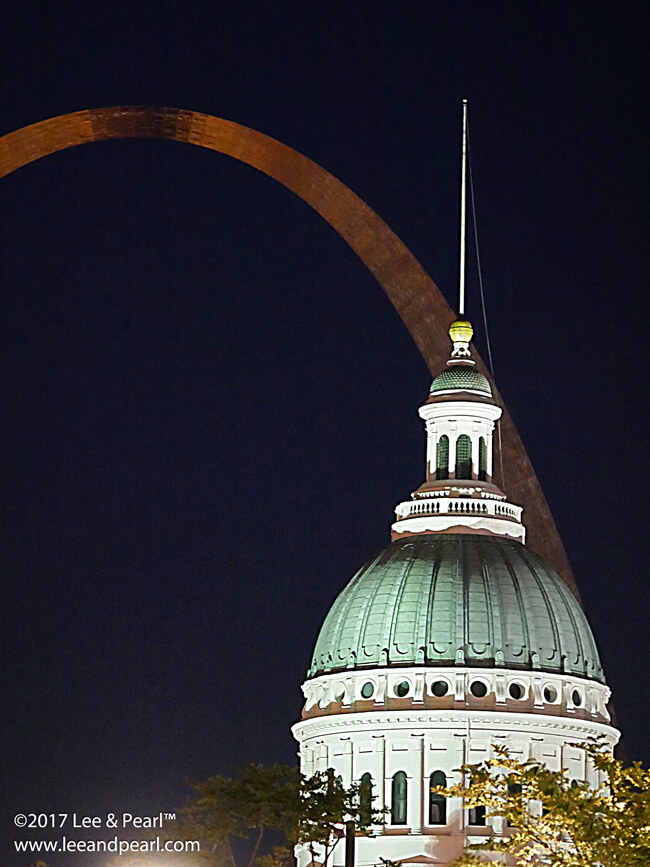 Join Lee & Pearl™ for a month on the road: the Gateway Arch in St. Louis.