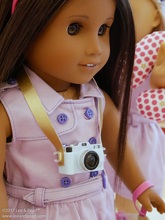 Lee & Pearl visit American Girl® in Dallas, TX to see the June releases, including the NEW Grand Hotel!