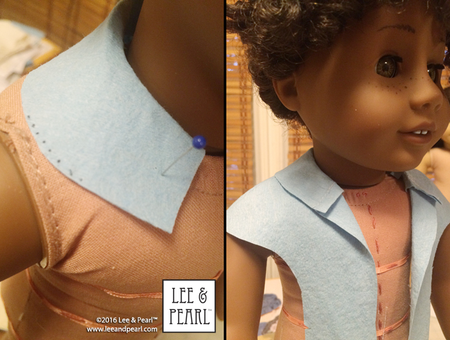 Coming soon from Lee & Pearl: Pattern 1964 Sunday Stroll for 18 inch, 16 inch and 14 1/2 inch dolls!